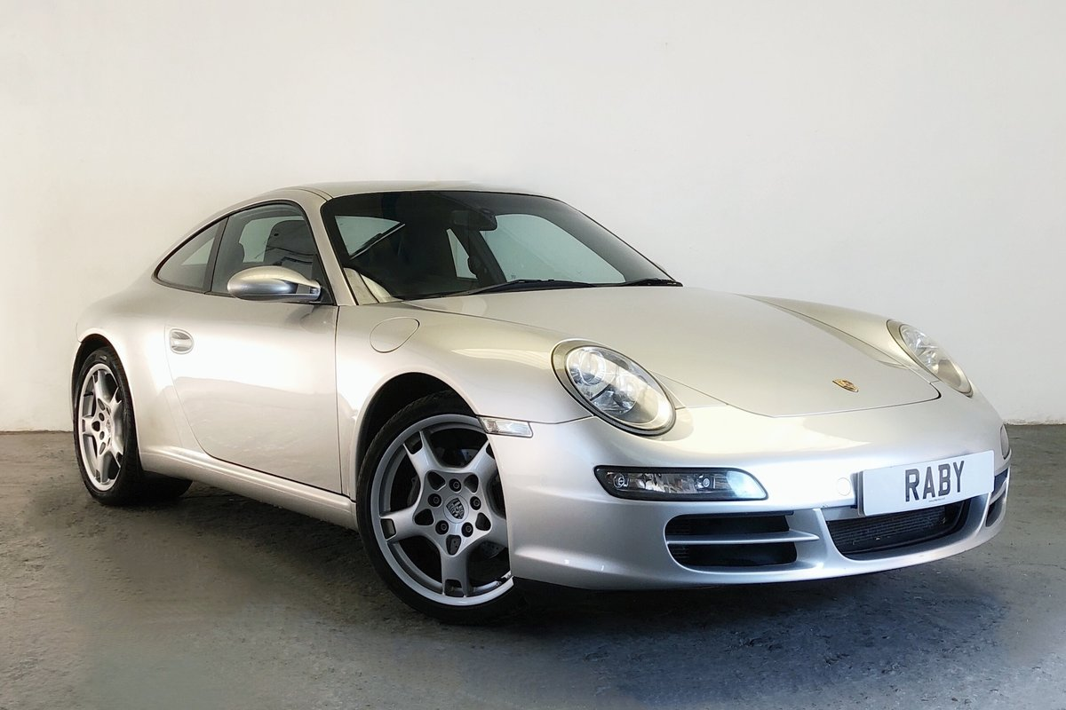 2004 Porsche 997 Carrera Tiptronic in lovely condition SOLD (picture 1 of 6)