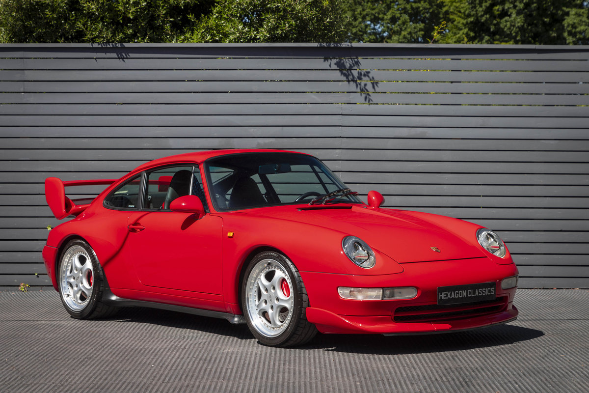 1996 PORSCHE 911 (993) CARRERA 2 LHD NON SUNROOF For Sale (picture 1 of 6)