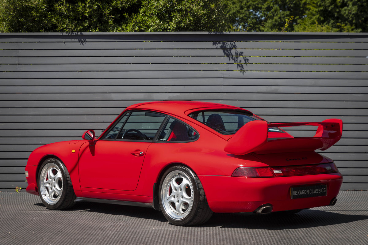 1996 PORSCHE 911 (993) CARRERA 2 LHD NON SUNROOF For Sale (picture 2 of 6)