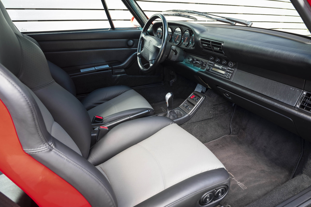 1996 PORSCHE 911 (993) CARRERA 2 LHD NON SUNROOF For Sale (picture 5 of 6)