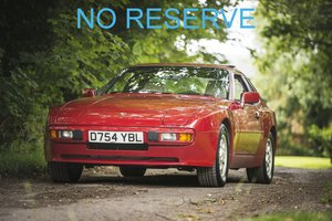 1986 Porsche 944S 16v - Only 1 Owner - On The Market For Sale by Auction