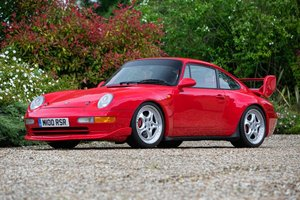 1995 PORSCHE 911 (993) RS CLUBSPORT For Sale by Auction