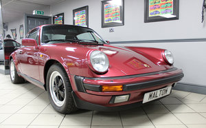1988 Porsche 911 3.2 Sport Coupe in Velvet Red For Sale