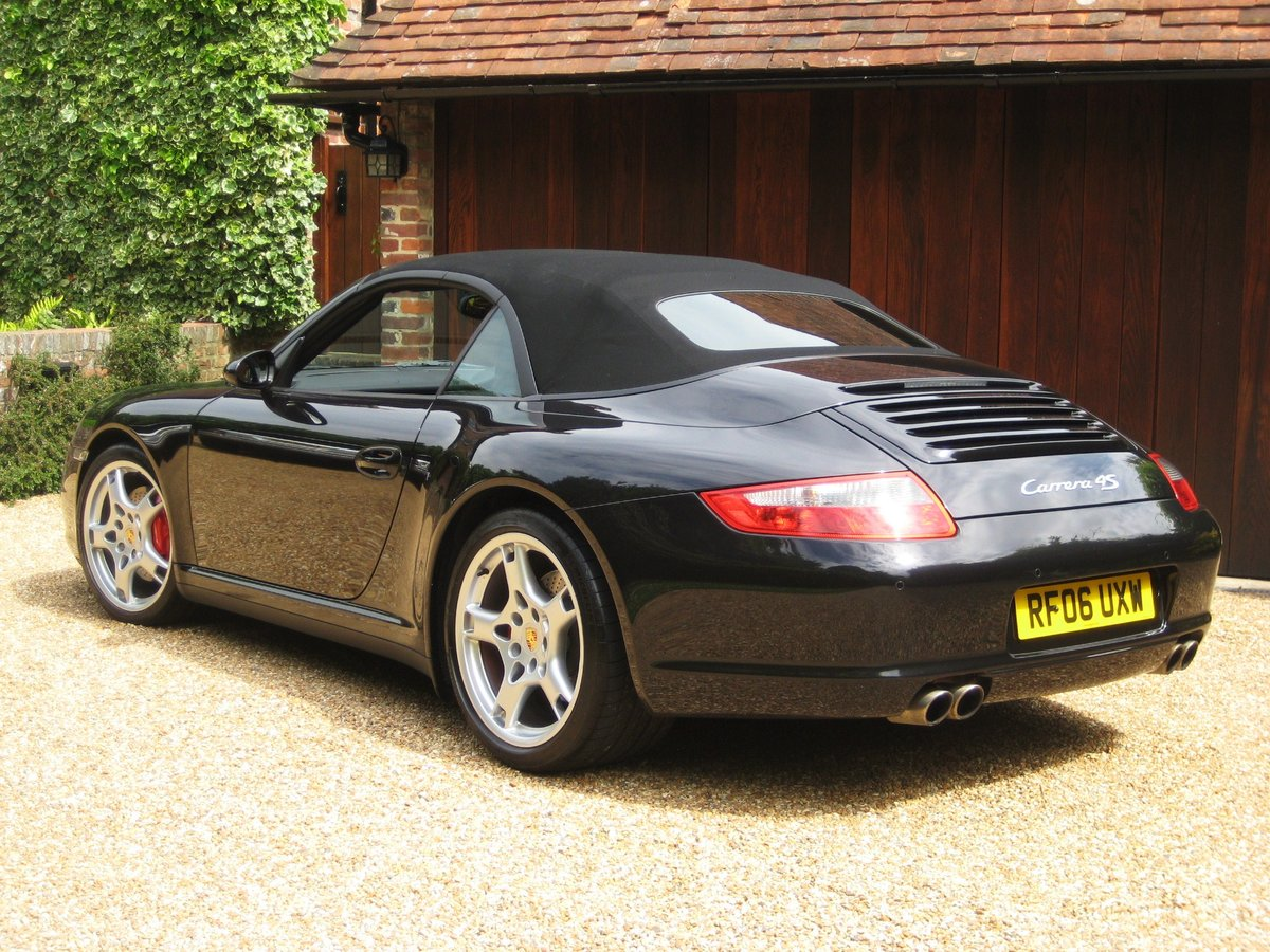 2006 Porsche 911 (997) 3.8 Carrera 4S With Only 25000 Miles For Sale (picture 5 of 6)