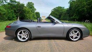 2002 Porsche 911 3.6 996 carrera 4 cabriolet tiptronic For Sale