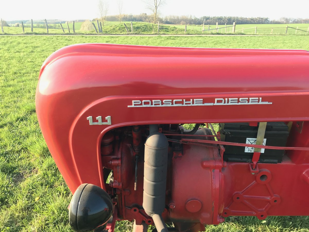 1956 Porsche Tractor P111 Classic  For Sale (picture 2 of 6)