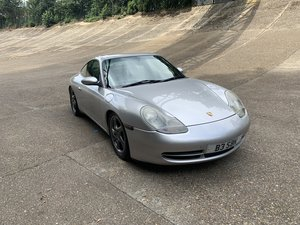 1998 Porsche 911 996 3.4 Manual Silver and Black Carrera 2 For Sale