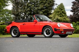 1983 Porsche 911 3.2 Sport Cab-45,000 miles only For Sale by Auction