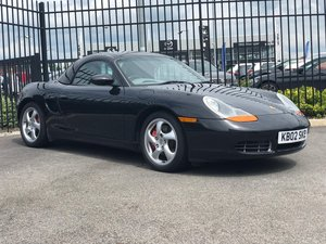 2002 Porsche Boxster 3.2S JUST 9500 miles one owner! For Sale by Auction