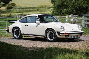 1985 Porsche 911 Carrera 3.2 Sport £35,000 - £40,000 For Sale by Auction
