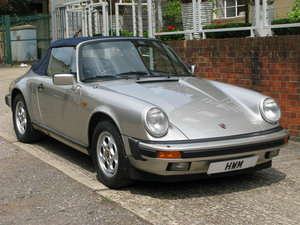 1983 Porsche 911 3.2 Carrera Cabriolet For Sale
