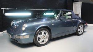 1990 Porsche 911 964 C2 Cabriolet - 86,000 miles FSH For Sale by Auction