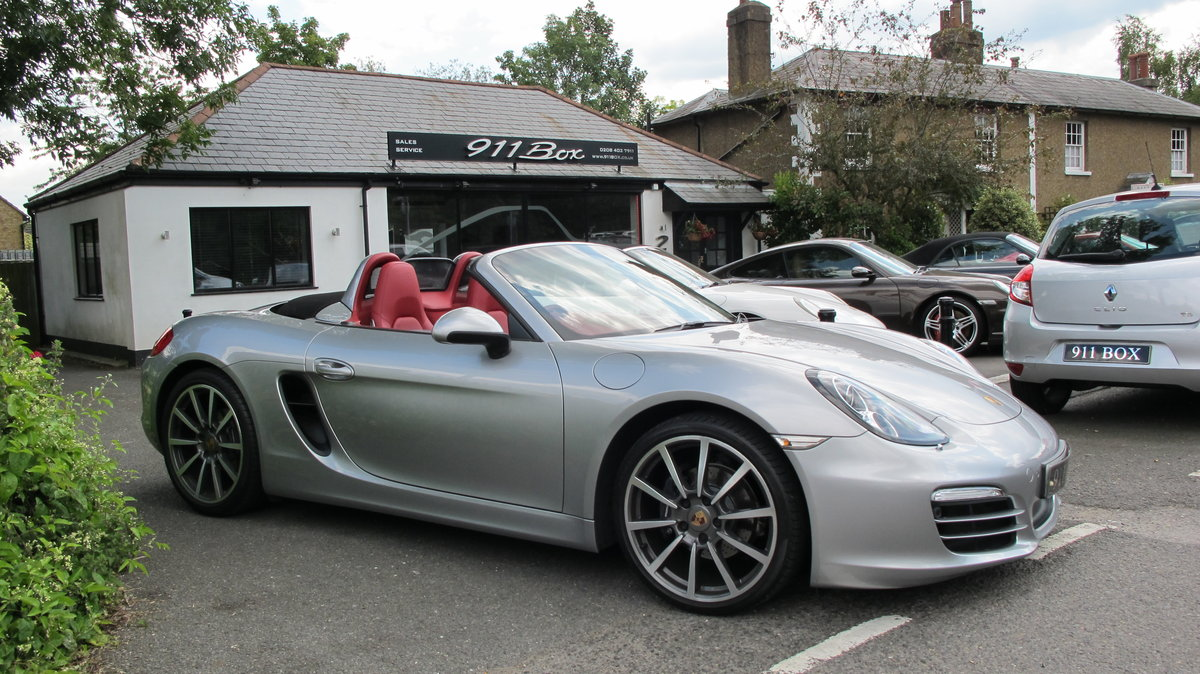 2013 PORSCHE BOXSTER (981) 2.7 PDK SAT-NAV For Sale (picture 1 of 6)