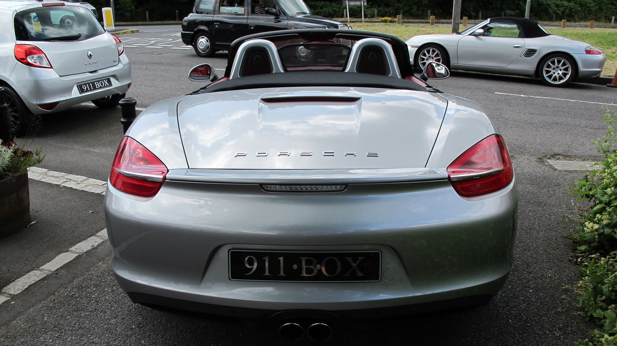 2013 PORSCHE BOXSTER (981) 2.7 PDK SAT-NAV For Sale (picture 6 of 6)