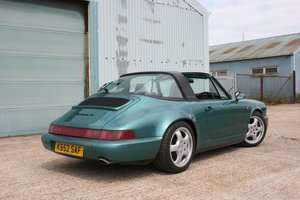 1992 Porsche 911 964 Carrera 4 manual Targa 58000miles For Sale
