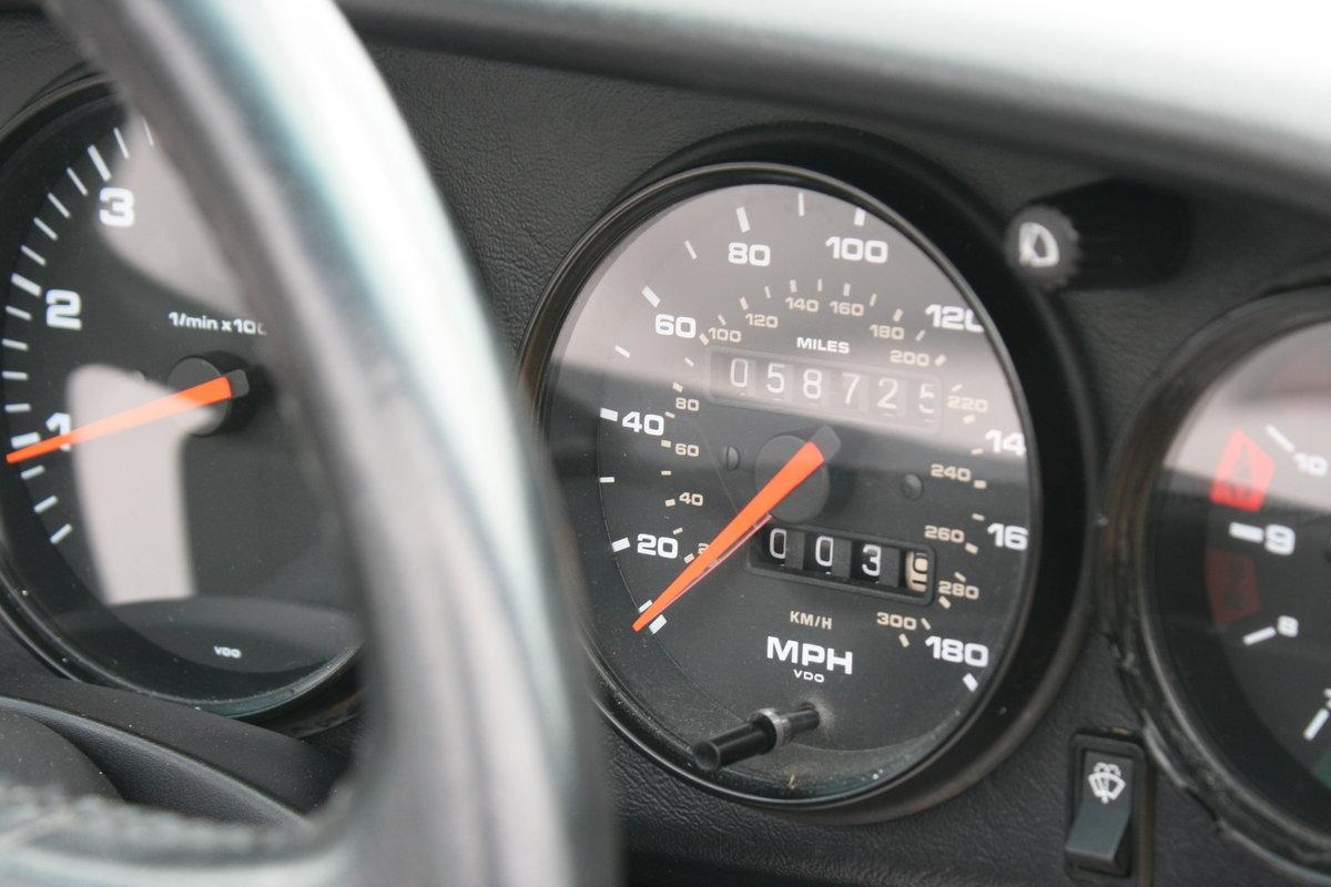 1992 Porsche 911 964 Carrera 4 manual Targa 58000miles For Sale (picture 6 of 6)