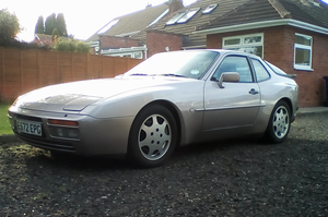 1988 Porsche 944 Turbo Coupe Silver Rose For Sale by Auction