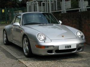1997- Porsche 993 C2S Coupe For Sale