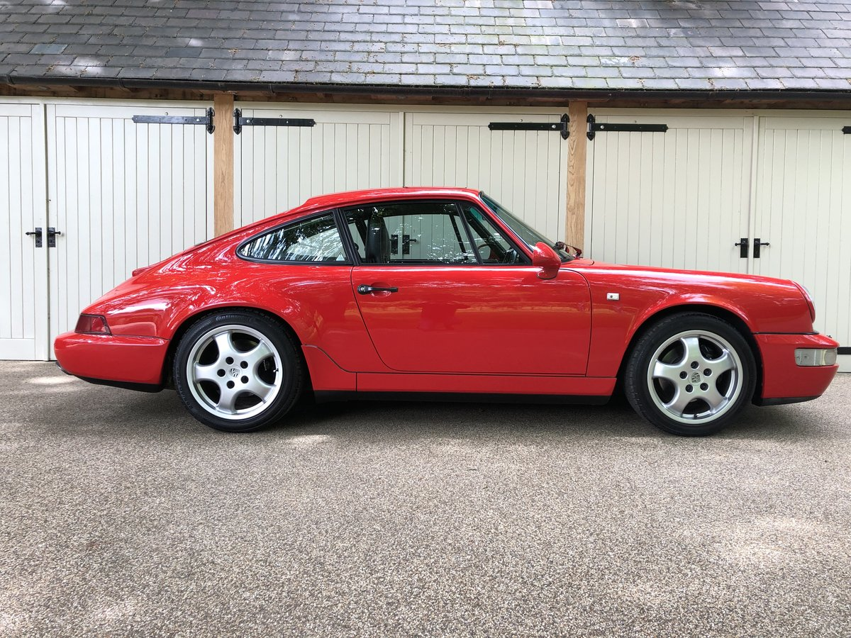 1990 Porsche 911 964 Carrera 2 Coupe MANUAL For Sale (picture 1 of 6)