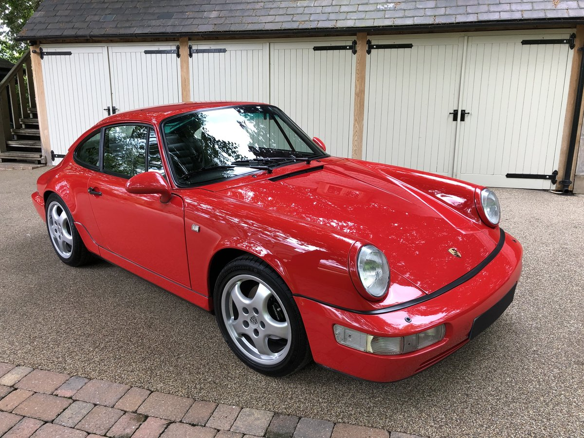 1990 Porsche 911 964 Carrera 2 Coupe MANUAL For Sale (picture 2 of 6)
