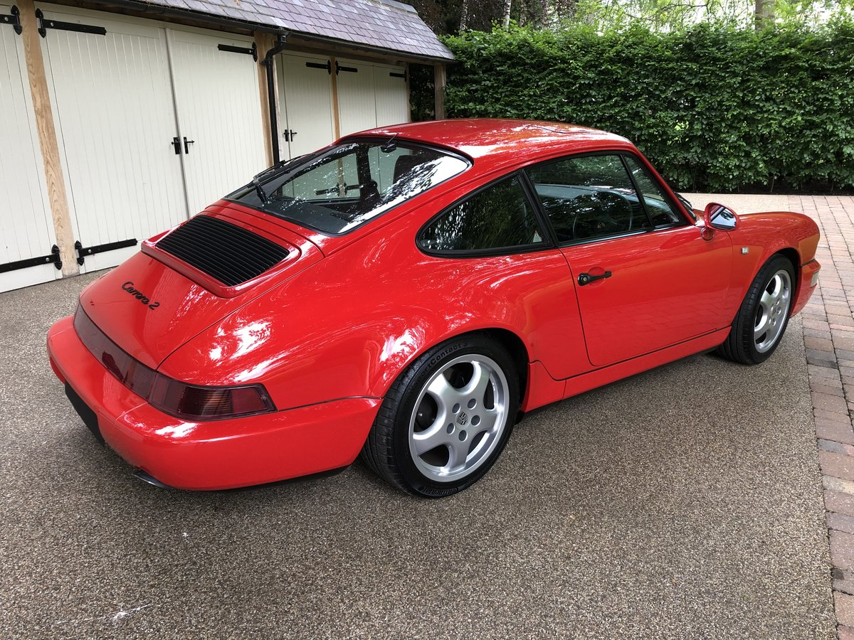 1990 Porsche 911 964 Carrera 2 Coupe MANUAL For Sale (picture 3 of 6)