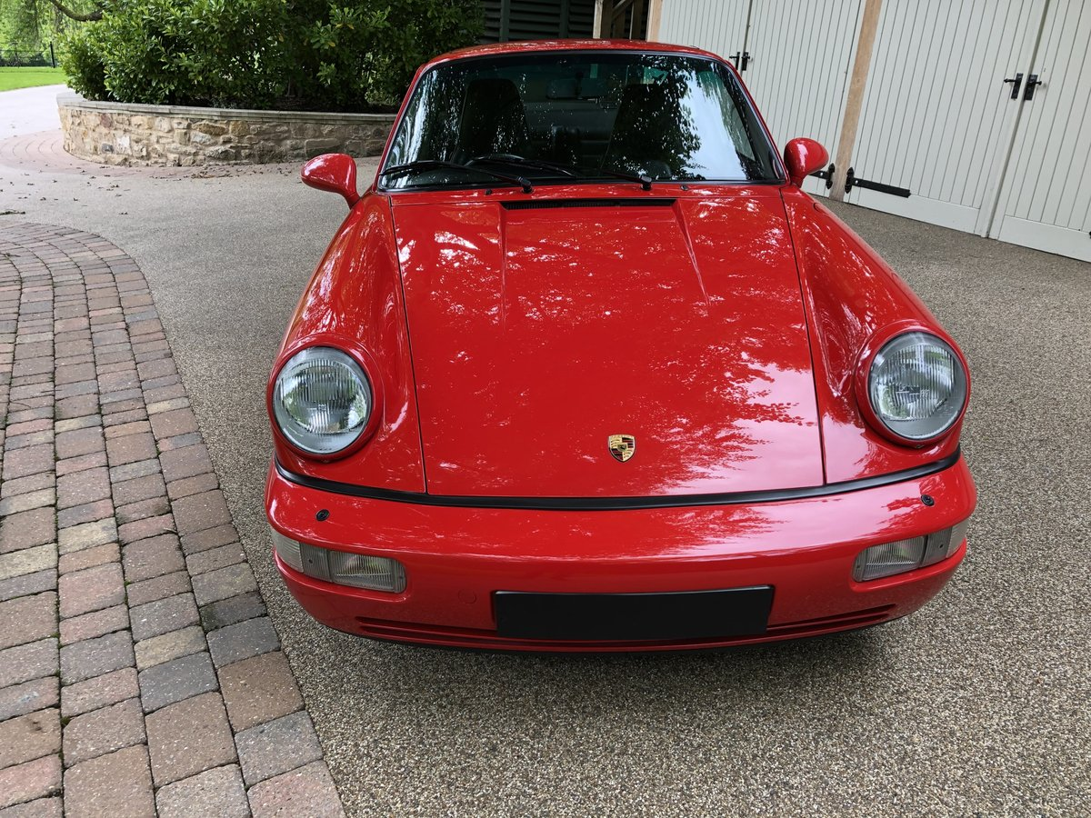 1990 Porsche 911 964 Carrera 2 Coupe MANUAL For Sale (picture 4 of 6)