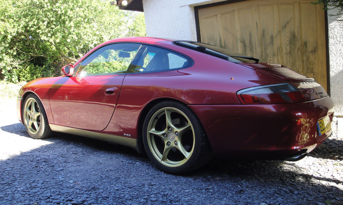 2002 Porsche 911 Carrera Type 996 Coupé For Sale by Auction (picture 1 of 6)
