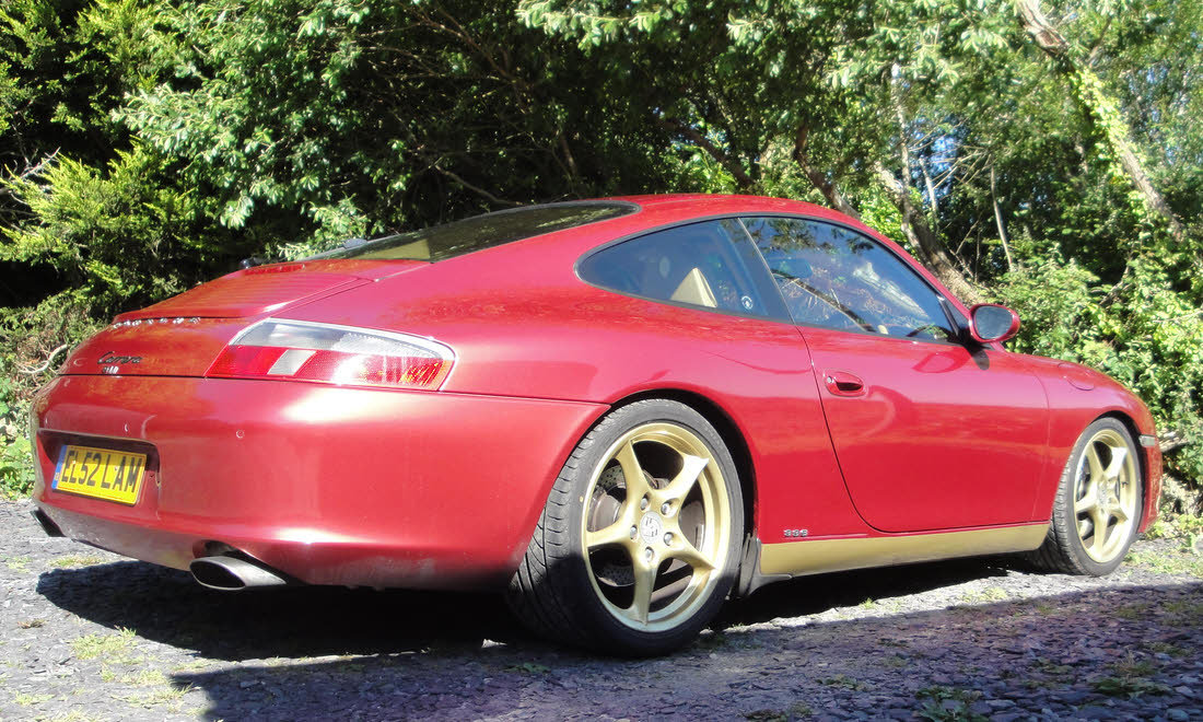 2002 Porsche 911 Carrera Type 996 Coupé For Sale by Auction (picture 3 of 6)