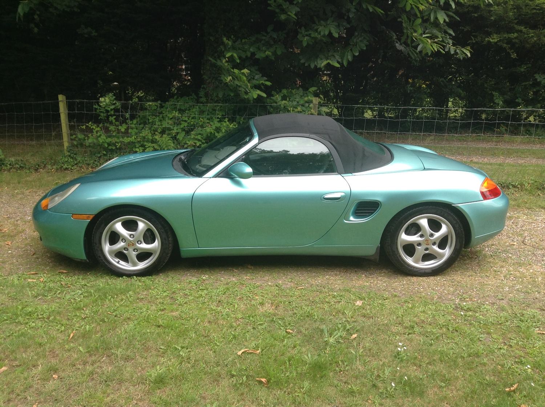 1998 Porsche Boxster 986 2.5L For Hire (picture 1 of 5)
