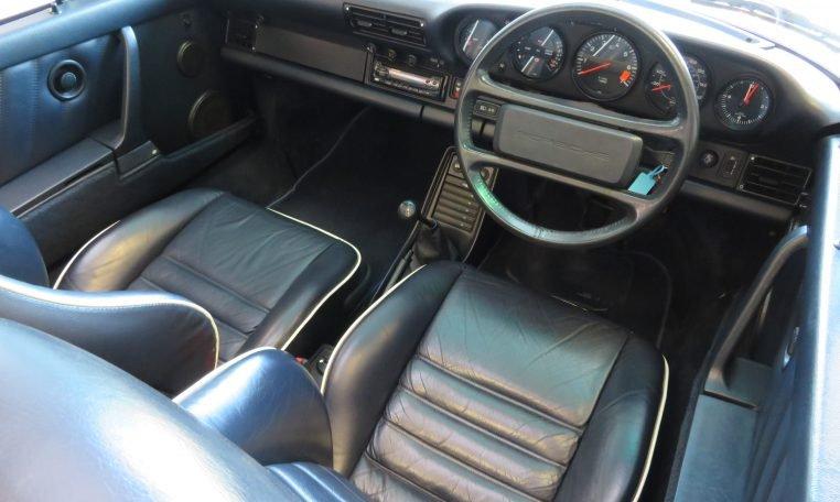 1988 PORSCHE 911 CARRERA 3.2 CONVERTIBLE For Sale (picture 5 of 6)