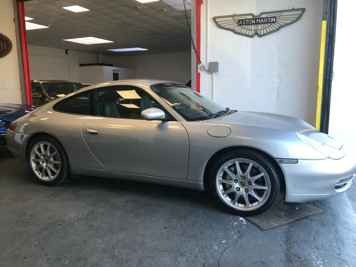 1999 Porsche 911 Carrera 4 996 manual Jersey Car For Sale (picture 1 of 6)