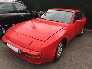 1982 Porsche 944 Red / Red Leather/ Scarce Early Survivor SOLD