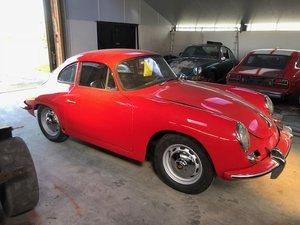 1963 Porsche 356 bt6 coupe LHD For Sale