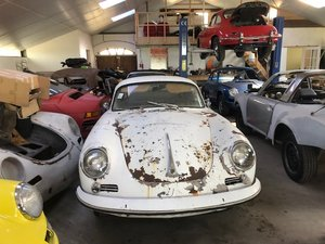 1963 Porsche 356 bt6 coupe for restoration For Sale