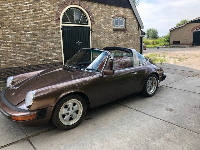 1976 porsche 911s LHD targa, fully nut and bolt restored For Sale (picture 1 of 6)