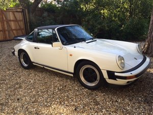Porsche 911 Carrera 3.2 Targa Sport 1984  For Sale