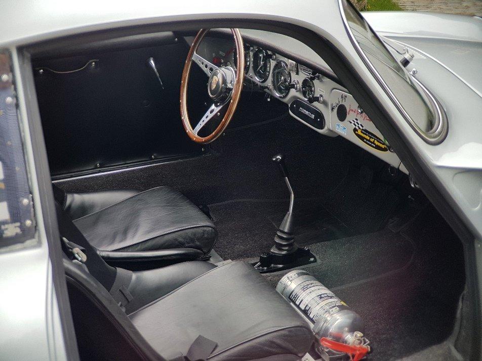 1962 Porsche 356 B Carrera 2000 GS, Certificate, History For Sale (picture 5 of 6)