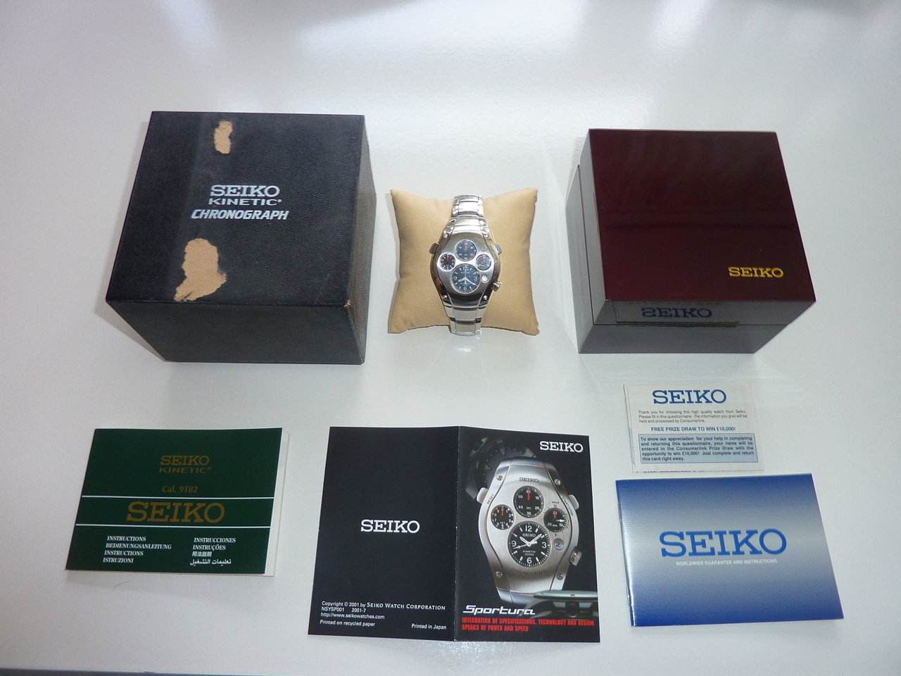 Porsche Seiko Watch For Sale (picture 1 of 5)