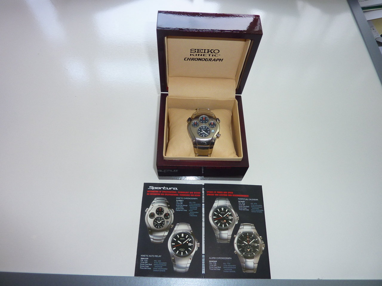 Porsche Seiko Watch For Sale (picture 2 of 5)