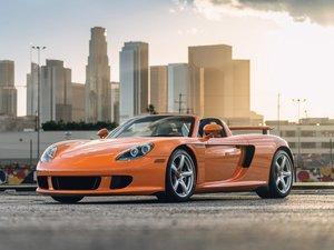2005 Porsche Carrera GT  For Sale by Auction