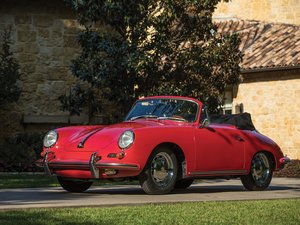 1965 Porsche 356 C 1600 C Cabriolet by Reutter For Sale by Auction