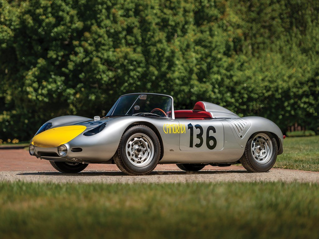 1960 porsche 718 rs 60 werks for sale by auction (picture 1 of 6)