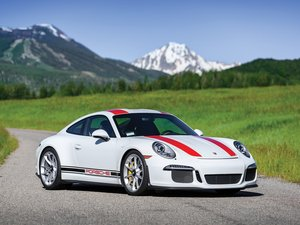 2016 Porsche 911 R  For Sale by Auction
