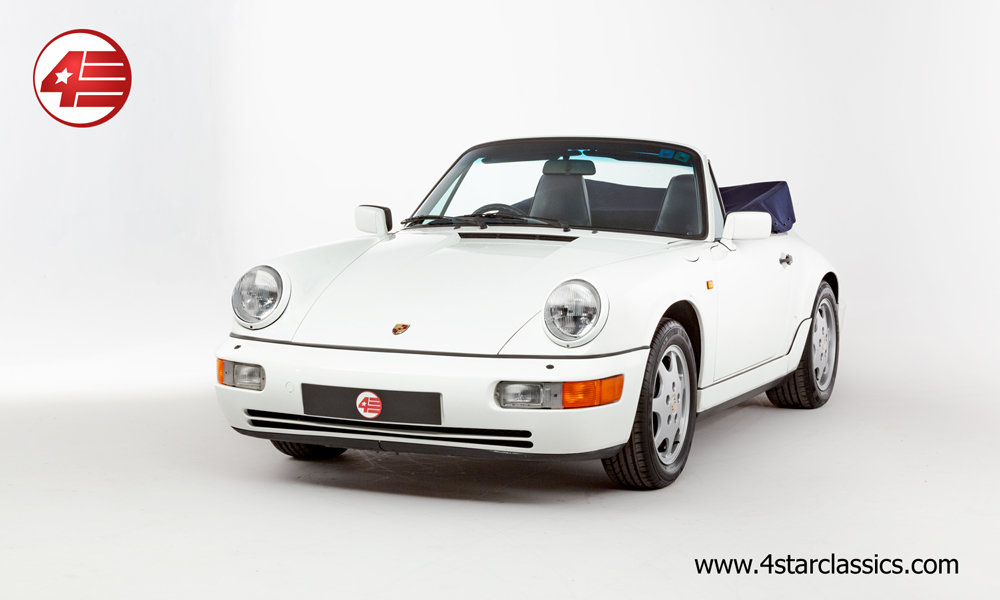 1993 Porsche 964 Carrera 4 Cabriolet /// 66k Miles For Sale (picture 1 of 6)