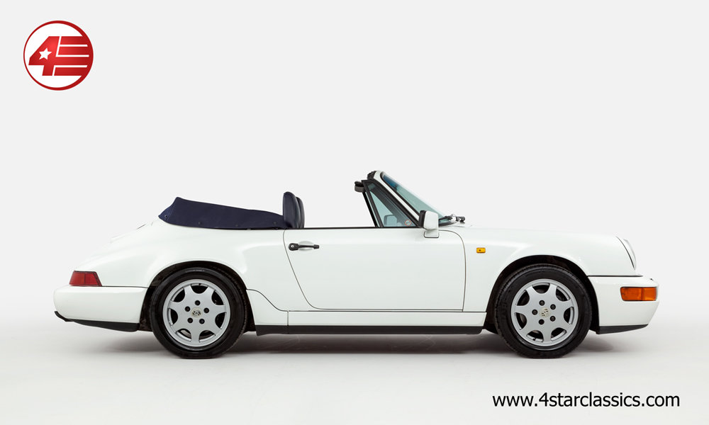 1993 Porsche 964 Carrera 4 Cabriolet /// 66k Miles For Sale (picture 2 of 6)