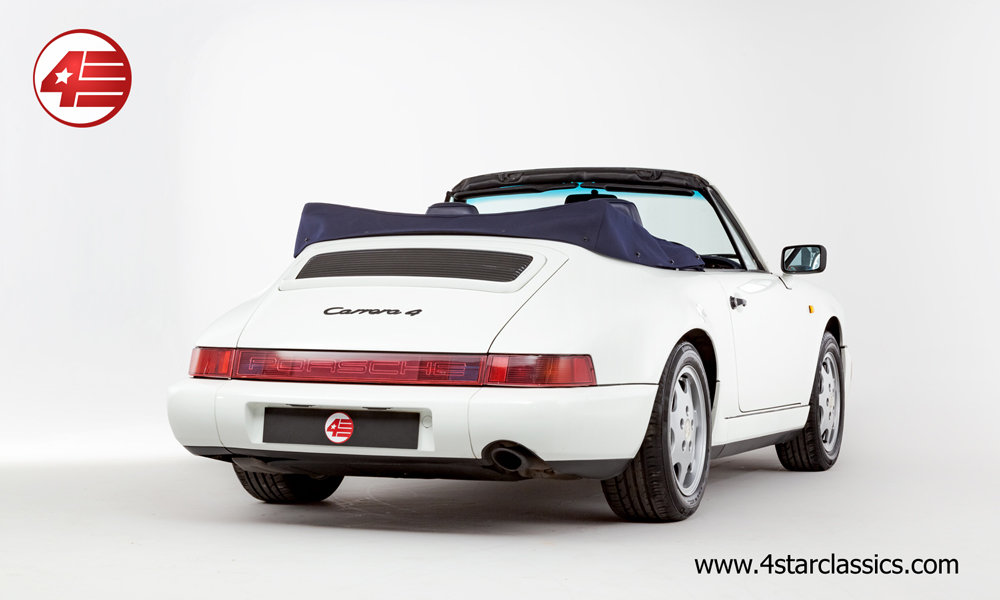 1993 Porsche 964 Carrera 4 Cabriolet /// 66k Miles For Sale (picture 3 of 6)
