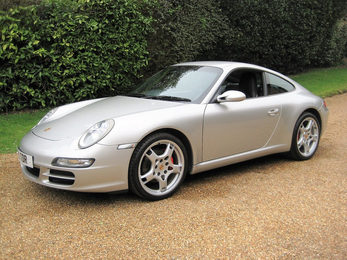 2008 Porsche 911 (997) 3.6 Carrera Tiptronic S With £7k Of Extras For Sale (picture 1 of 6)