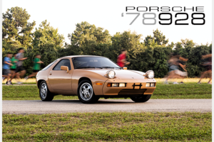 1978 Porsche 928 Coupe  Gold 20k miles 5 speed $39.5k For Sale