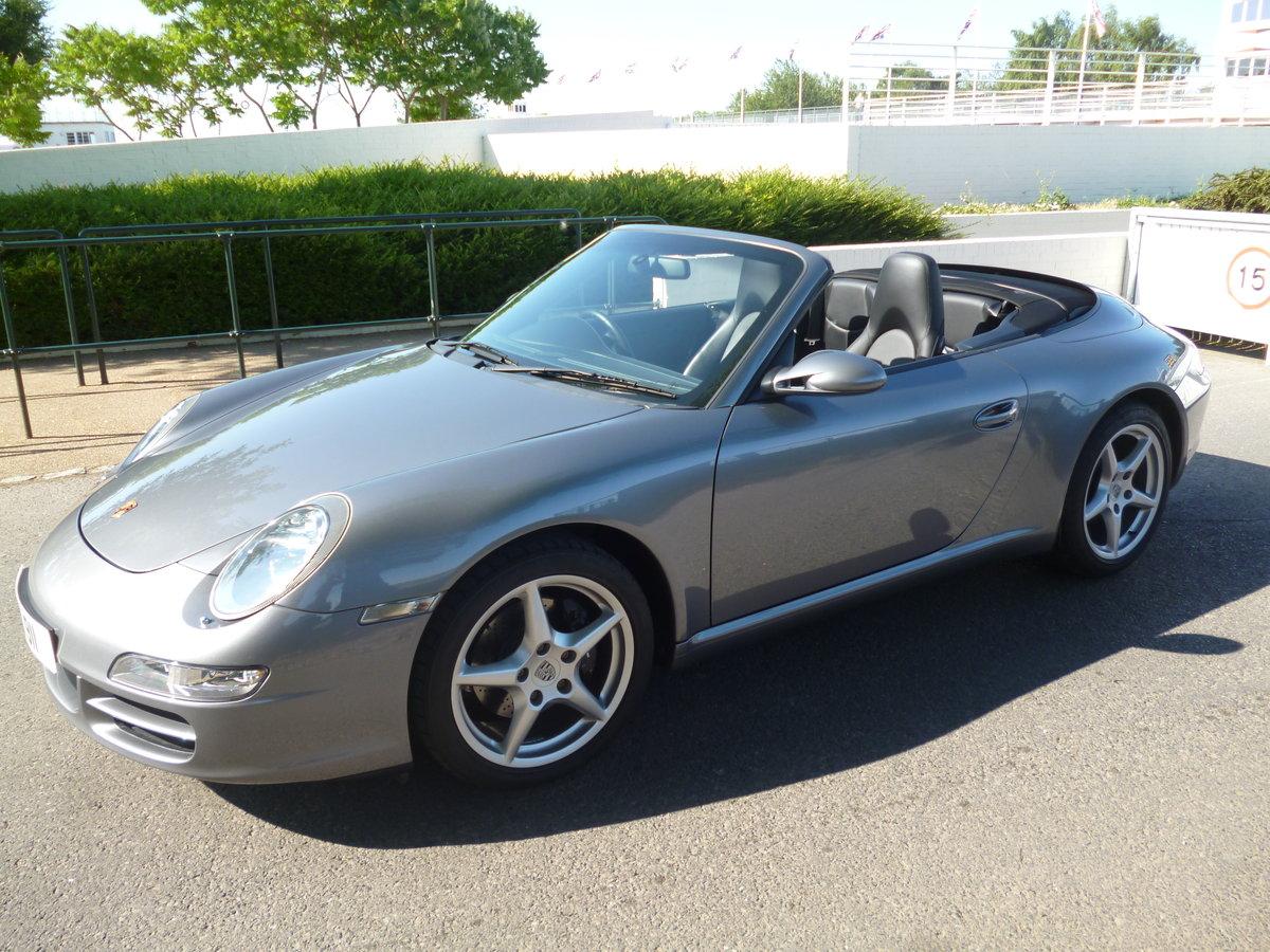 2006 Porsche 911 Carrera Cabriolet 997 3.6 Manual  For Sale (picture 2 of 6)