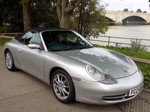 1999 PORSCHE 911 (996) CARRERA 2 CONVERTIBLE - MANUAL For Sale
